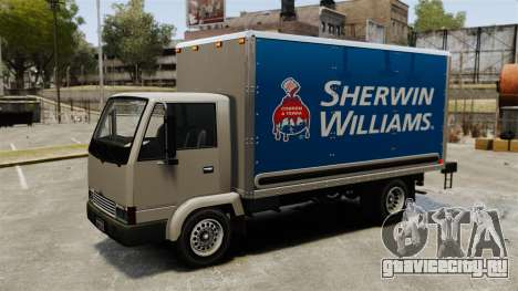 Новая реклама для грузовика Mule для GTA 4 вид сзади