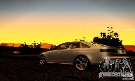 Audi RS6 TT для GTA San Andreas вид справа