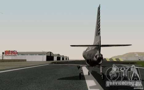McDonnell Douglas A-4AR Fightinghawk для GTA San Andreas вид слева