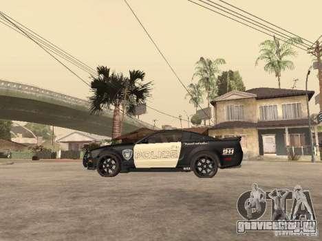Saleen S281 2007 Barricade для GTA San Andreas вид слева