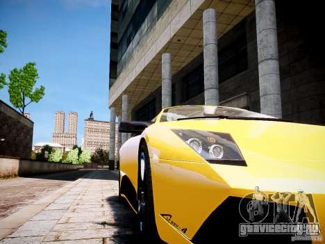 Lamborghini Murcielago LP650-4 Roadster для GTA 4 вид сзади слева