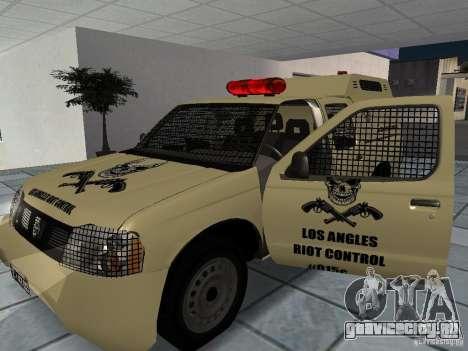 Nissan Terrano LARC для GTA San Andreas вид справа