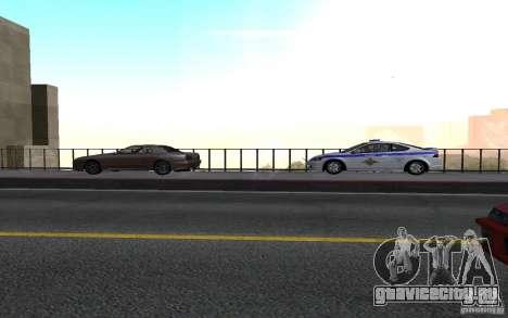 Police на мосту Сан-Фиеро_v.2 для GTA San Andreas второй скриншот