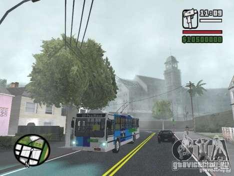 Cobrasma Monobloco Patrol II Trolerbus для GTA San Andreas