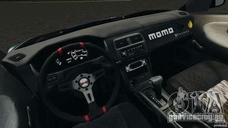Nissan 240SX Time Attack для GTA 4 вид сзади