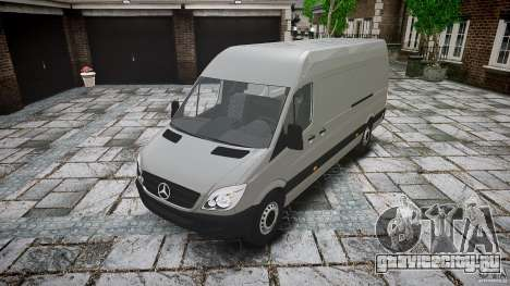 Mercedes Benz Sprinter Long Version для GTA 4