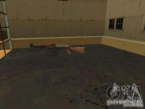 Оживление военной базы в доках для GTA San Andreas четвёртый скриншот
