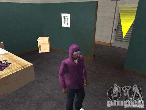 Капюшон для GTA San Andreas четвёртый скриншот
