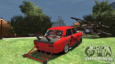 ВАЗ 2103 заточенная под драг для GTA 4