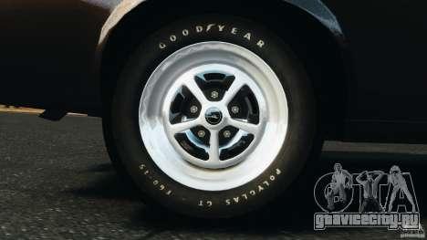 Ford Mustang Boss 429 для GTA 4 вид изнутри