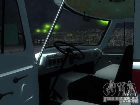 УАЗ 3962 Скорая помощь для GTA San Andreas вид сзади
