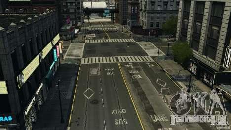 Пустой город для GTA 4