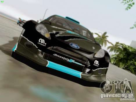 Ford Fiesta RS для GTA San Andreas вид сверху