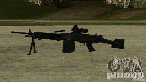 M240 для GTA San Andreas второй скриншот