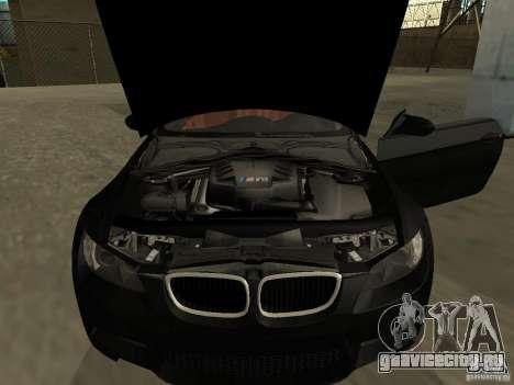 BMW M3 E92 Tunable для GTA San Andreas вид сзади слева