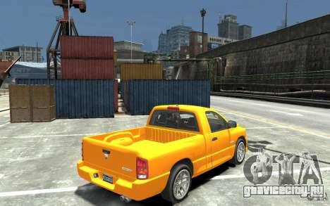 Dodge Ram SRT-10 v.1.0 для GTA 4 вид справа