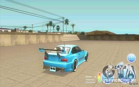 CraZZZy Speedometer v.2.2 + Ограниченный бензин для GTA San Andreas