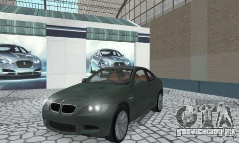 BMW M3 E92 Stock для GTA San Andreas вид слева