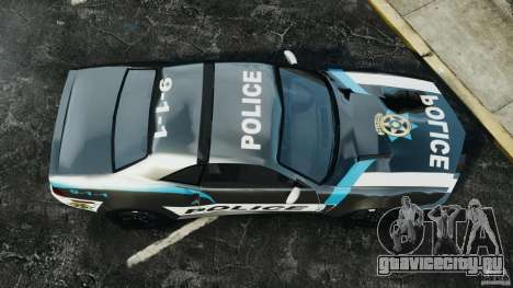 NFSOL State Police Car [ELS] для GTA 4 вид справа