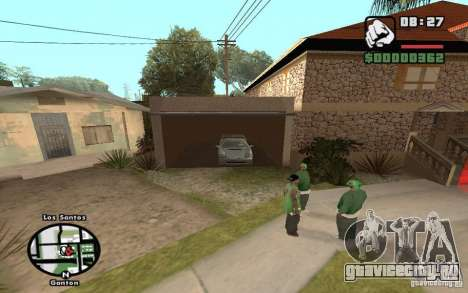 New CJs House для GTA San Andreas четвёртый скриншот