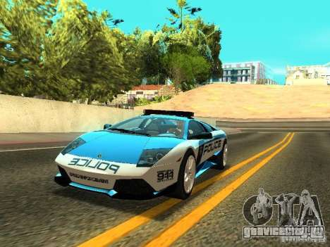 Lamborghini Murcielago LP640 Police V1.0 для GTA San Andreas