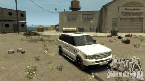 Land Rover Range Rover Sport для GTA 4