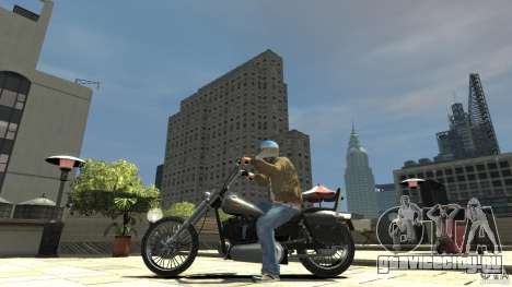 Zombie Bike Paintjob для GTA 4 вид слева