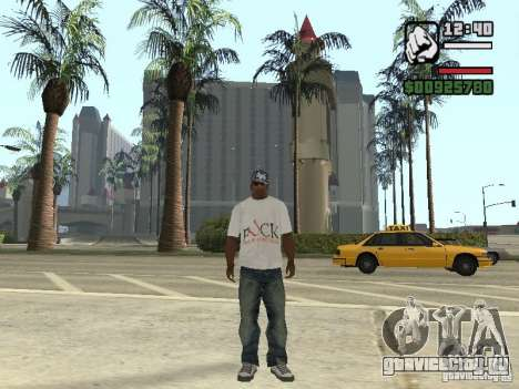 Футболка FUck для GTA San Andreas