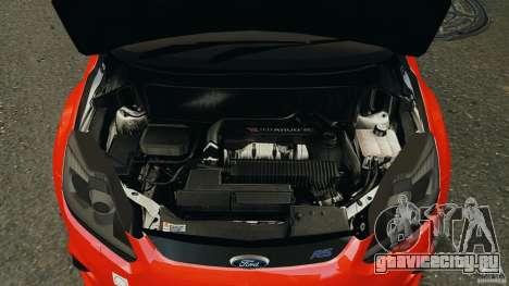 Ford Focus RS для GTA 4 вид сверху