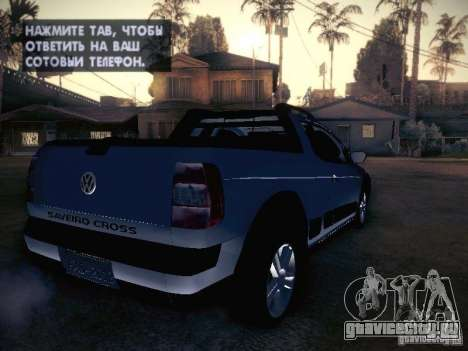 Volkswagen Saveiro Cross для GTA San Andreas вид справа
