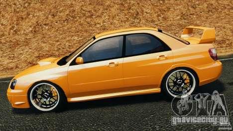 Subaru Impreza WRX STI 2005 для GTA 4