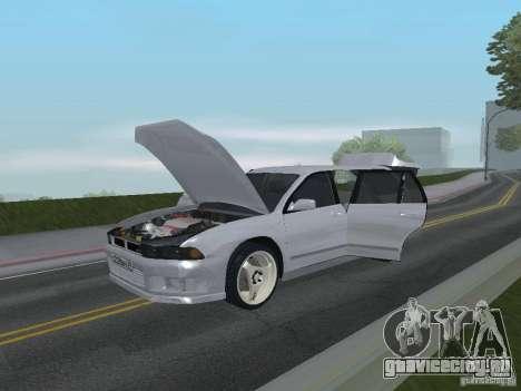 Mitsubishi Legnum для GTA San Andreas вид изнутри