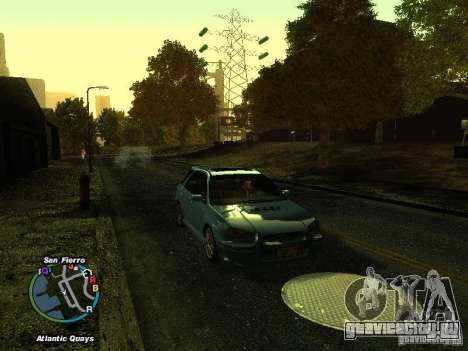 Subaru Impreza Wagon 2004 - 2002 для GTA San Andreas