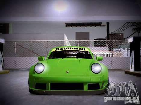 Porsche 911 Turbo RWB Pandora One для GTA San Andreas вид сбоку