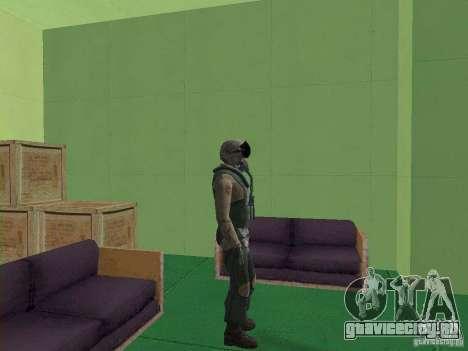 Военный пилот для GTA San Andreas четвёртый скриншот