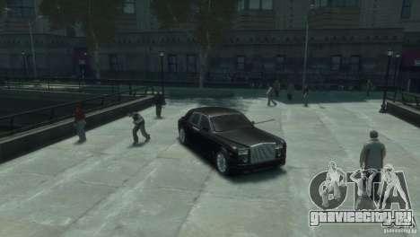 Rolls-Royce Phantom для GTA 4 вид слева