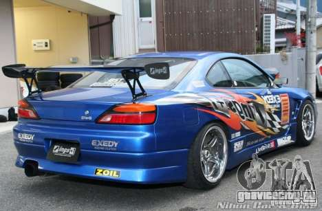 Nissan Silvia INGs +1 для GTA San Andreas вид сбоку