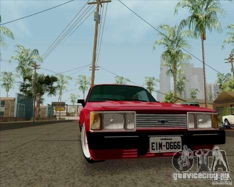 Chevrolet Opala Diplomata 1986 для GTA San Andreas вид слева