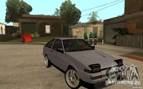 Toyota Corolla AE86 для GTA San Andreas