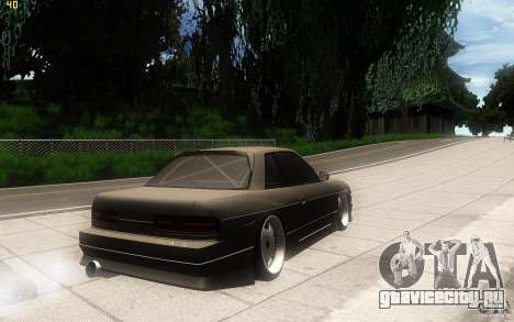 Nissan Silvia S13 Clean Edition для GTA San Andreas вид справа