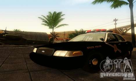 Ford Crown Victoria New Mexico Police для GTA San Andreas