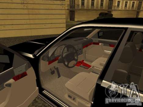 BMW 535i для GTA San Andreas вид сзади