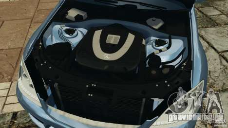 Mercedes-Benz S W221 Wald Black Bison Edition для GTA 4 вид сверху