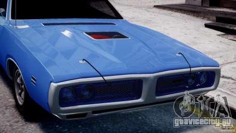 Dodge Charger RT 1971 v1.0 для GTA 4 салон
