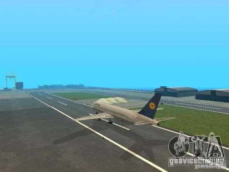 Boeing 767-300 Lufthansa для GTA San Andreas вид справа