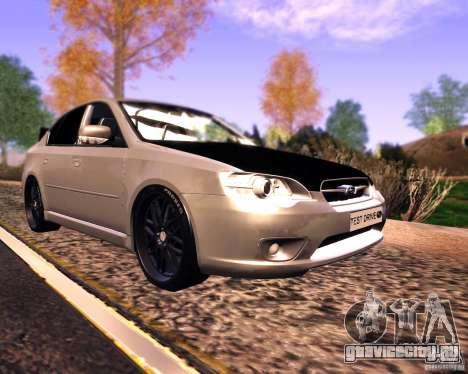 Subaru Legacy 3.0 R tuning v 2.0 для GTA San Andreas