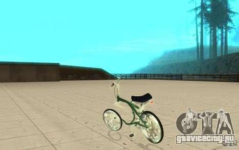 Custom Bike для GTA San Andreas вид сзади слева