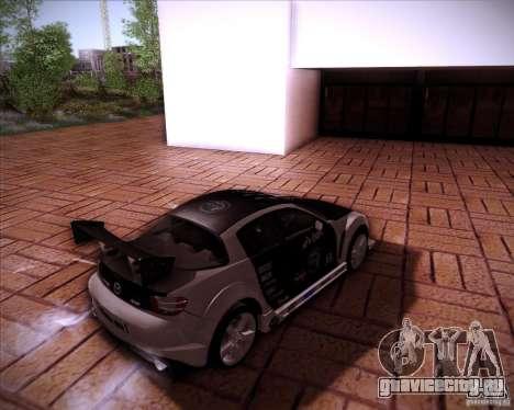 Mazda RX-8 для GTA San Andreas вид сбоку