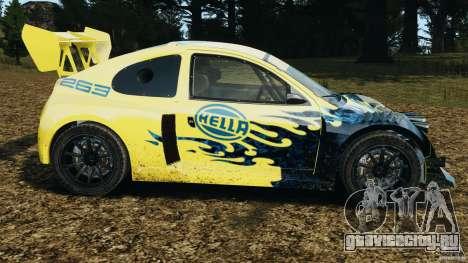 Colin McRae Hella Rallycross для GTA 4 вид слева