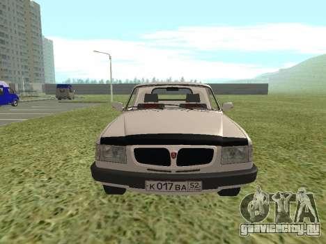ГАЗ 17310 Трофим для GTA San Andreas вид сзади слева